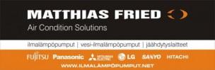 Matthias Fried - Tarvitsetko lämpöpumppua? Kysy tarjous? Matthiakselta voit kysyä myös lämmitysöljy tarjousta!