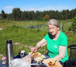 Anja Pailio - Omakotiliiton tutussa paidassa